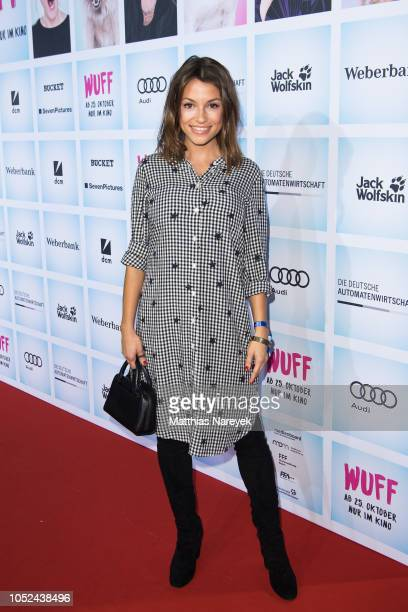 Anna Julia Kapfelsperger attends the movie premiere of 'Wuff' at Zoo Palast on October 17 2018 in Berlin Germany