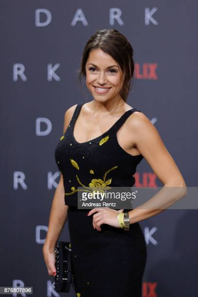 Anna Julia Kapfelsperger attends the premiere of the first German Netflix series 'Dark' at Zoo Palast on November 20 2017 in Berlin Germany