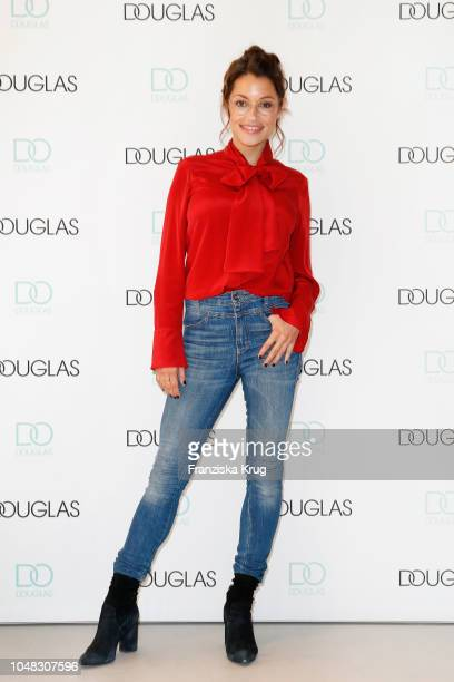 Anna Julia Kapfelsperger attends the reopening of the Douglas flagship store on October 9 2018 in Frankfurt am Main Germany