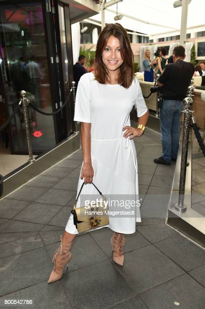 Anna Julia Kapfelsperger attends the Sommerfest der Agenturen during Munich Film Festival 2017 at H'ugo's on June 24 2017 in Munich Germany