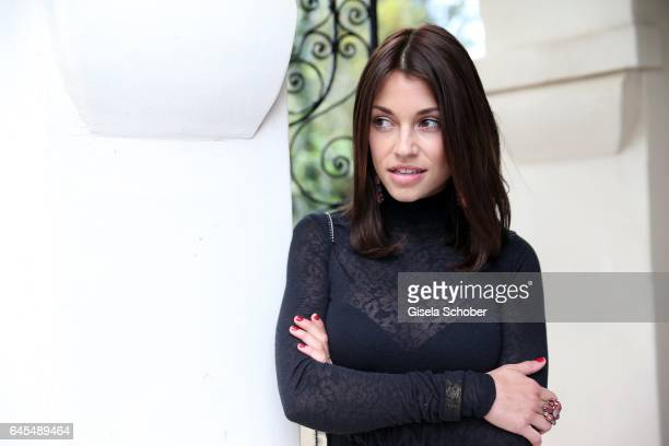 Anna Julia Kapfelsperger during the German Oscar nominees reception at The Villa Aurora on February 25 2017 in Pacific Palisades California