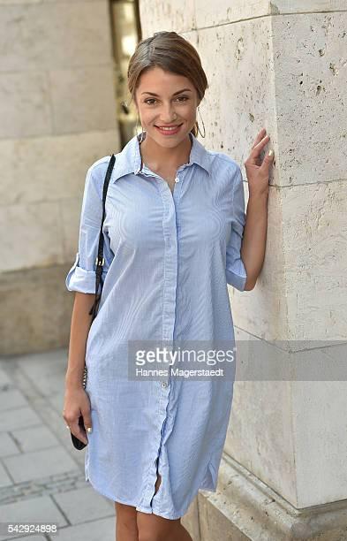 Anna Julia Kapfelsperger during the 'Sommerfest der Agenturen' at Hugo's on June 25 2016 in Munich Germany