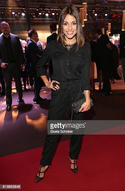 Anna Julia Kapfelsperger during the Tribute To Bambi at Station on October 6 2016 in Berlin Germany