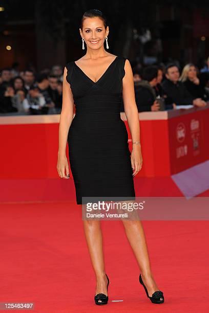 Anna Kanakis attends the La Dolce Vita World Restoration Premiere during The 5th International Rome Film Festival at Auditorium Parco Della Musica on...