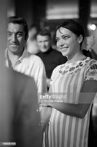 Anna Karina In Venice And In London. Septembre 1967, l'actrice, chanteuse et écrivaine danoise Anna KARINA s'apprête à tourner dans le film...