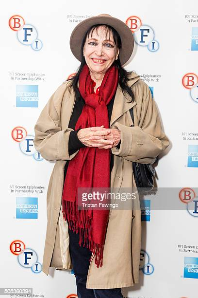 Anna Karina introduces Singin' in the Rain as part of the BFI Screen Epiphanies series at BFI Southbank on January 17 2016 in London England