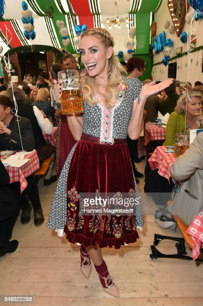 Anna Katharina Kraft during the BMW Armbrustschiessen as part of the Oktoberfest 2017 at ArmbrustSchuetzenfesthalle on September 18 2017 in Munich...