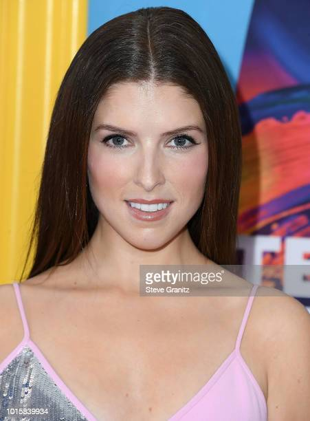 Anna Kendrick arrives at the FOX's Teen Choice Awards 2018 at The Forum on August 12 2018 in Inglewood California