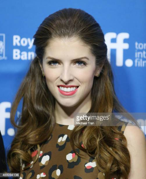 Anna Kendrick arrives at the photo call of Cake held during 2014 Toronto International Film Festival - Day 6 held on September 9, 2014 in Toronto,...
