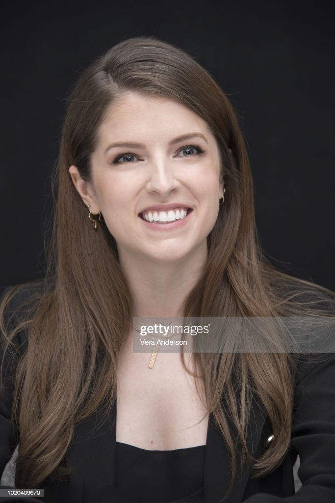 """A Simple Favor"" Press Conference : News Photo"