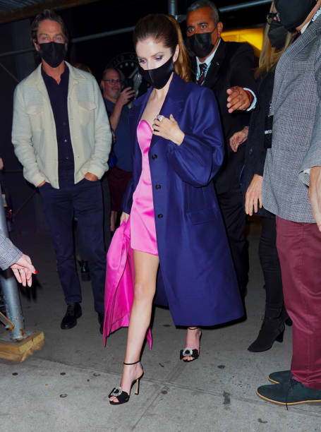 NY: Celebrity Sightings In New York City - October 24, 2021