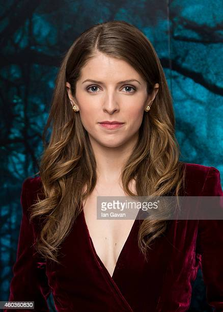 LONDON ENGLAND DECEMBER 12 Anna Kendrick attends a photocall for 'Into The Woods' at Corinthia Hotel London on December 12 2014 in London England
