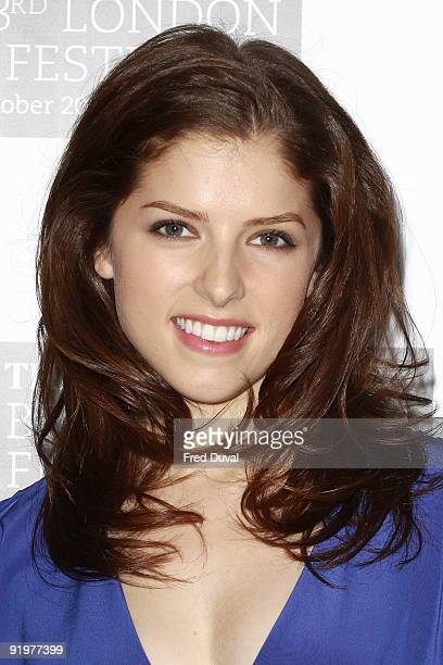 Anna Kendrick attends a photocall for 'Up In The Air' during The Times BFI London Film Festival at May Fair Hotel on October 18 2009 in London England