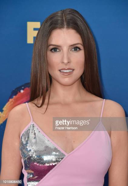 Anna Kendrick attends FOX's Teen Choice Awards at The Forum on August 12, 2018 in Inglewood, California.