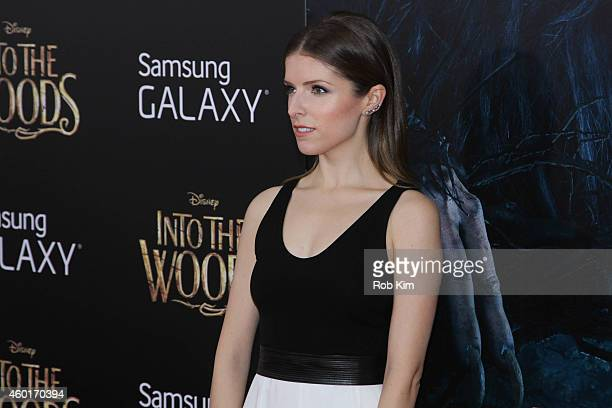Anna Kendrick attends 'Into The Woods' World Premiere Outside Arrivals at Ziegfeld Theater on December 8 2014 in New York City
