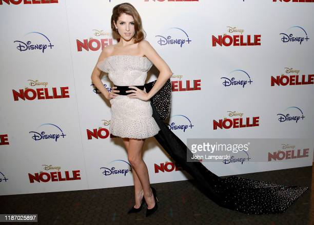 Anna Kendrick attends Noelle New York screening at SVA Theater on November 11 2019 in New York City