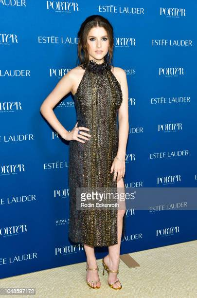 Anna Kendrick attends PORTER's Incredible Women Gala 2018 at Ebell of Los Angeles on October 9 2018 in Los Angeles California