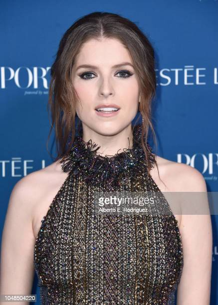 Anna Kendrick attends PORTER's Third Annual Incredible Women Gala at The Ebell of Los Angeles on October 9 2018 in Los Angeles California