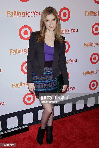 Anna Kendrick attends Target's 'Falling For You' Premiere at Terminal 5 on October 10 2012 in New York City