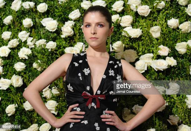 Anna Kendrick attends the 2017 Tony Awards at Radio City Music Hall on June 11 2017 in New York City