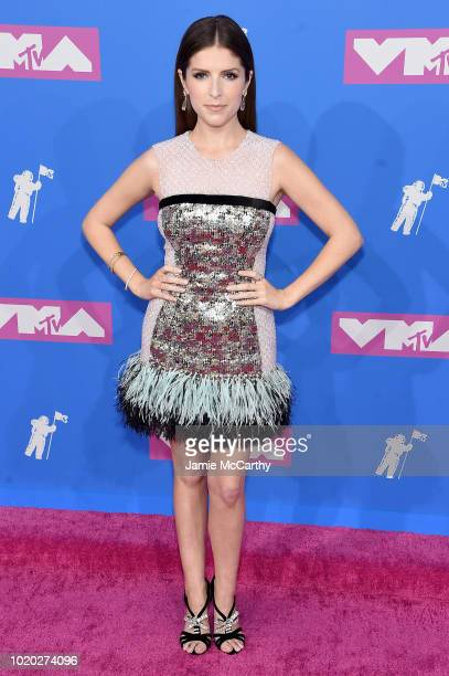 Anna Kendrick attends the 2018 MTV Video Music Awards at Radio City Music Hall on August 20 2018 in New York City