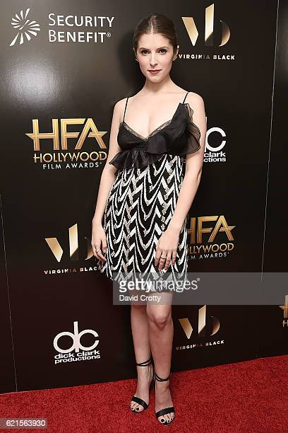 Anna Kendrick attends the 20th Annual Hollywood Film Awards Press Room at The Beverly Hilton Hotel on November 6 2016 in Beverly Hills California