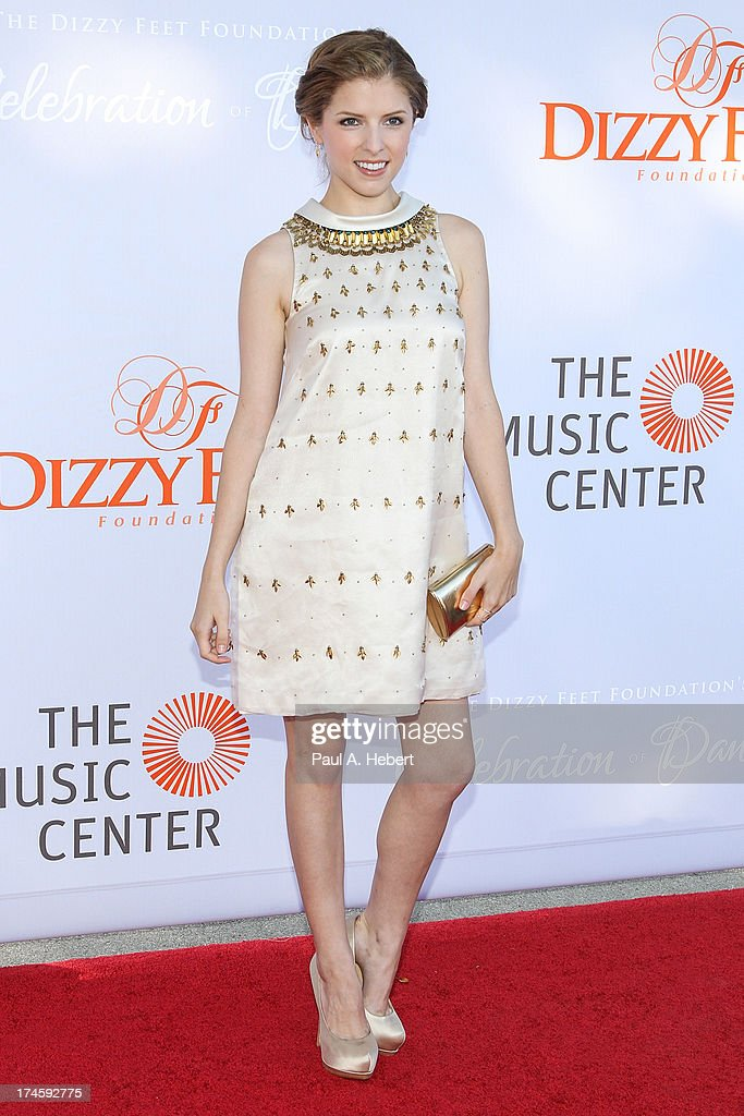 Anna Kendrick attends the 3rd Annual Dizzy Feet Foundation's Celebration Of Dance Gala at Dorothy Chandler Pavilion on July 27, 2013 in Los Angeles, California.