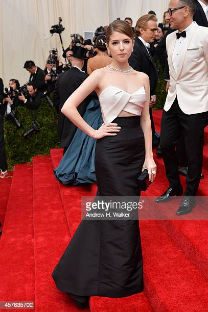 Anna Kendrick attends the Charles James Beyond Fashion Costume Institute Gala at the Metropolitan Museum of Art on May 5 2014 in New York City