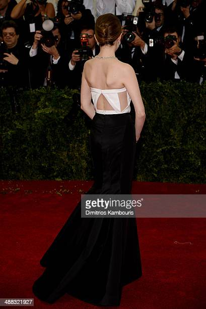 Anna Kendrick attends the 'Charles James Beyond Fashion' Costume Institute Gala at the Metropolitan Museum of Art on May 5 2014 in New York City