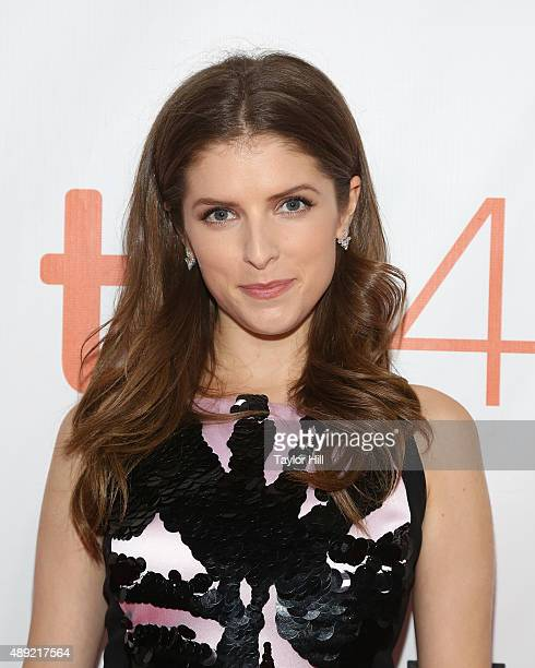 """Anna Kendrick attends the closing night gala of """"Mr. Right"""" at Roy Thomson Hall during the 2015 Toronto International Film Festival on September 19,..."""