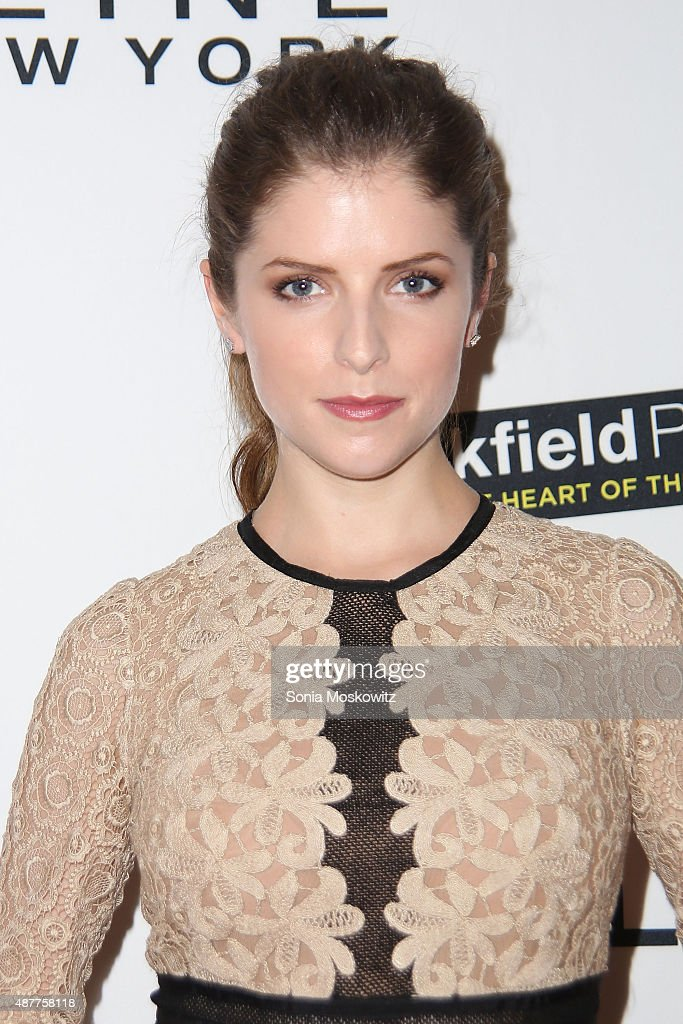Anna Kendrick attends The Daily Front Row's Third Annual Fashion Media Awards at the Park Hyatt New York on September 10, 2015 in New York City.