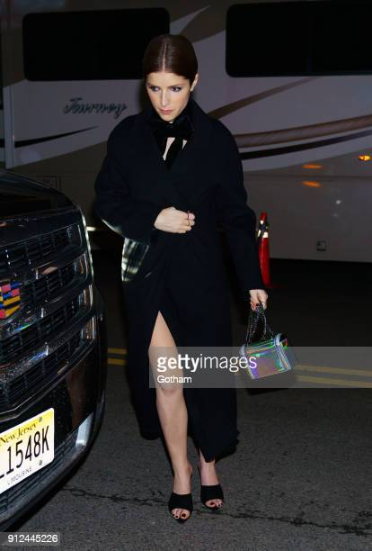 Anna Kendrick attends the Elton John tribute concert at Madison Square Garden on January 30 2018 in New York City