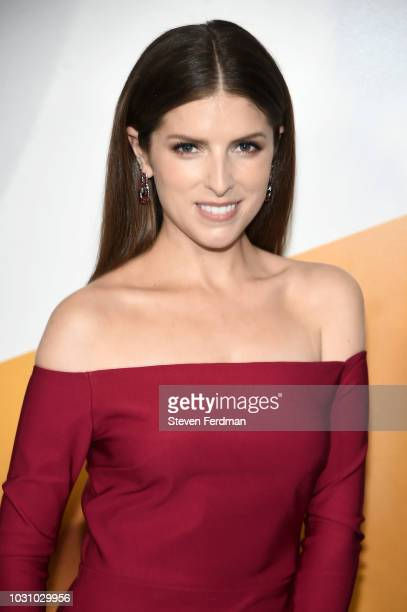 Anna Kendrick attends the New York premier of A Simple Favor at Museum of Modern Art on September 10 2018 in New York City