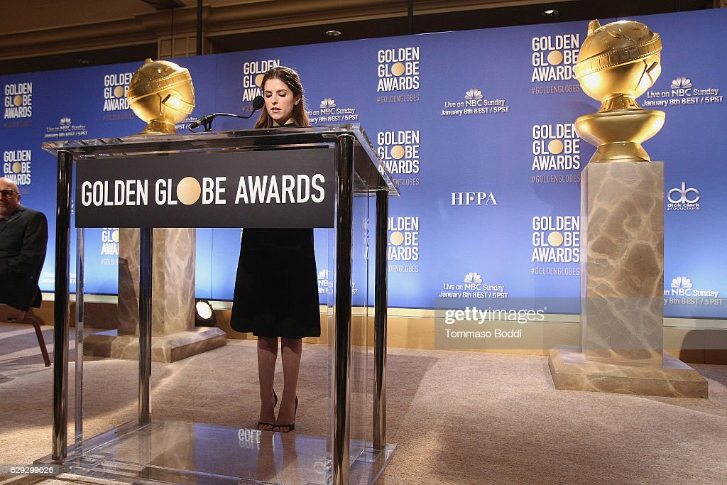 Nominations Announcement For The 74th Annual Golden Globe Awards : Foto jornalística