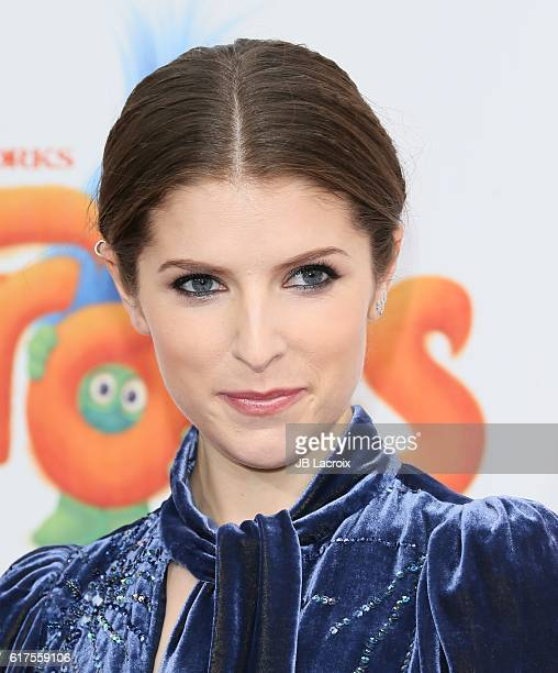 Anna Kendrick attends the premiere of 20th Century Fox's 'Trolls' on October 23 2016 in Westwood California