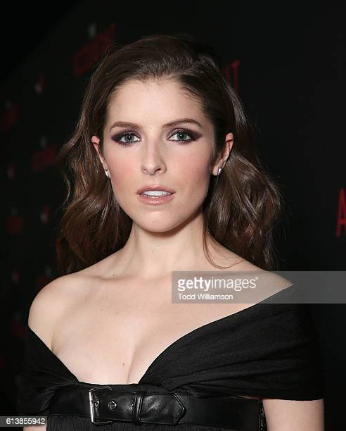 Anna Kendrick attends the Premiere Of Warner Bros Pictures' The Accountant at TCL Chinese Theatre on October 10 2016 in Hollywood California