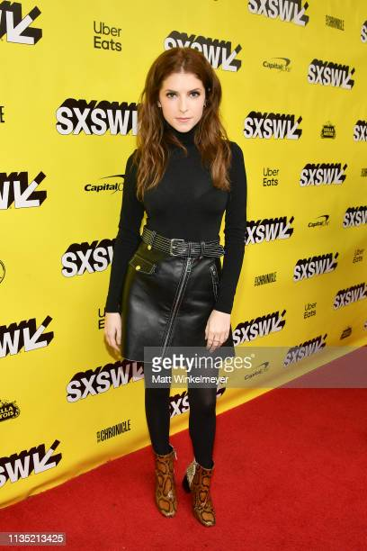 Anna Kendrick attends the The Day Shall Come Premiere 2019 SXSW Conference and Festivals at Paramount Theatre on March 11 2019 in Austin Texas
