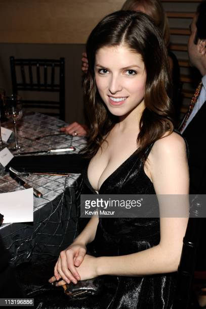 Anna Kendrick attends the TIME 100 Gala TIME'S 100 Most Influential People In The World at Frederick P Rose Hall Jazz at Lincoln Center on April 26...