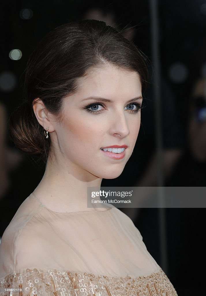 Anna Kendrick attends the UK premiere of 'What To Expect When You're Expecting' at BFI IMAX on May 22, 2012 in London, England.