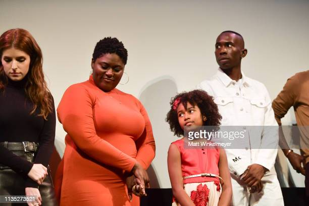 Anna Kendrick Danielle Brooks Calah Lane and Andrel McPherson attend the The Day Shall Come Premiere 2019 SXSW Conference and Festivals at Paramount...