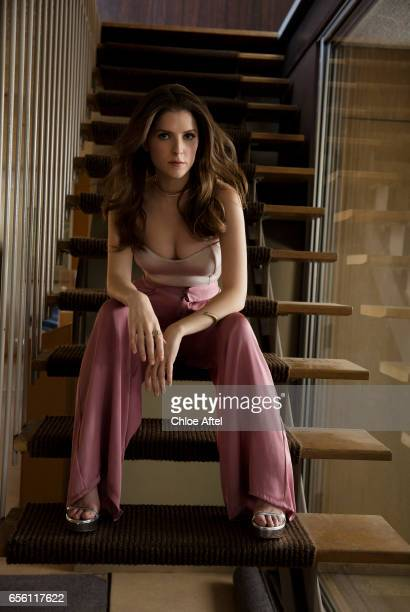 Anna Kendrick for Playboy Magazine on September 9 2016 in Los Angeles California
