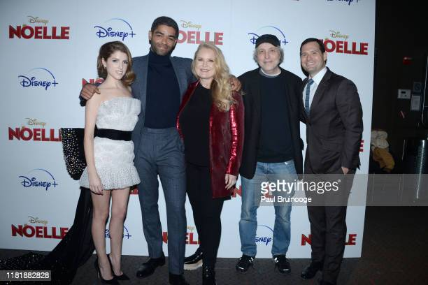 Anna Kendrick Kingsley BenAdir Suzanne Todd Marc Lawrence and Guest attend Disney And The Cinema Society Host A Special Screening Of Noelle at SVA...