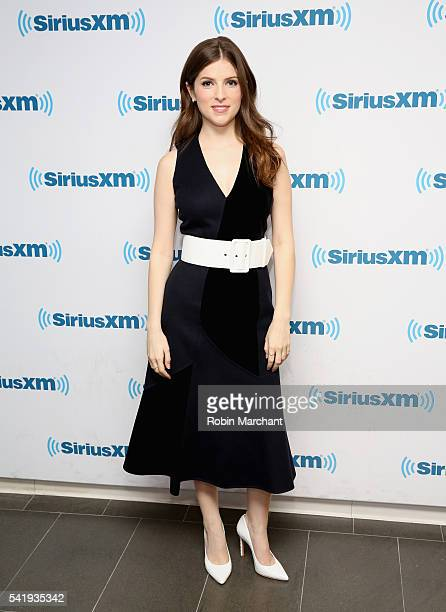Anna Kendrick visits at SiriusXM Studio on June 21 2016 in New York City