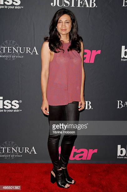Anna Khaja attends Star Magazine's Scene Stealers party at W Hollywood on October 22 2015 in Hollywood California