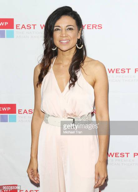 Anna Khaja attends the East West Players 'The Company We Keep' 52nd Anniversary Visionary Awards Fundraiser Dinner and Silent Auction held at Hilton...