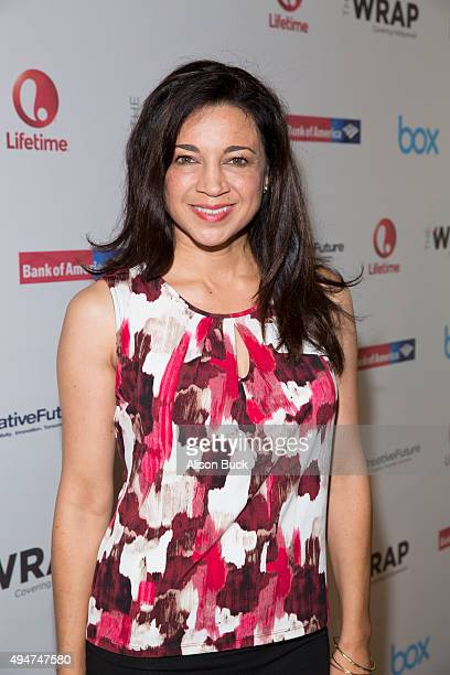 Anna Khaja attends TheWrap's Power Women Breakfast Los Angeles with Emilia Clarke on October 28 2015 in Beverly Hills California