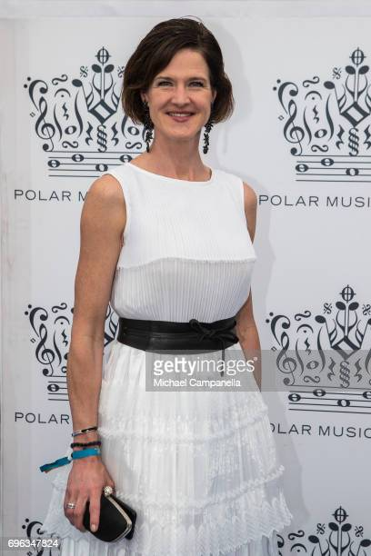 Anna Kinberg Batra attends an award ceremony for the Polar Music Prize at Konserthuset on June 15 2017 in Stockholm Sweden