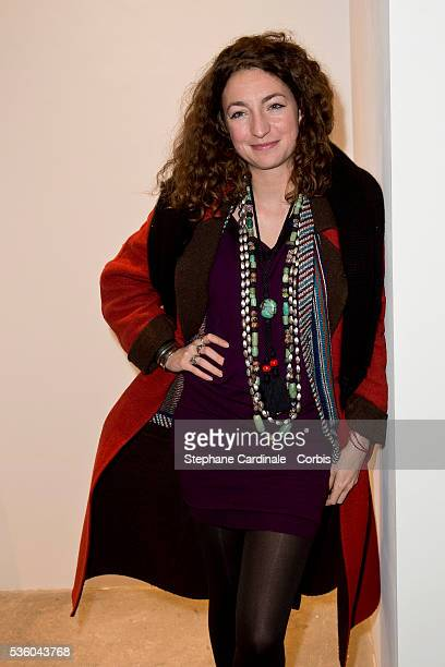Anna Klossowski de Rola attends the Launch Elie Top 'Haute Joaillerie Fantaisie' Collection on January 27 2015 in Paris France
