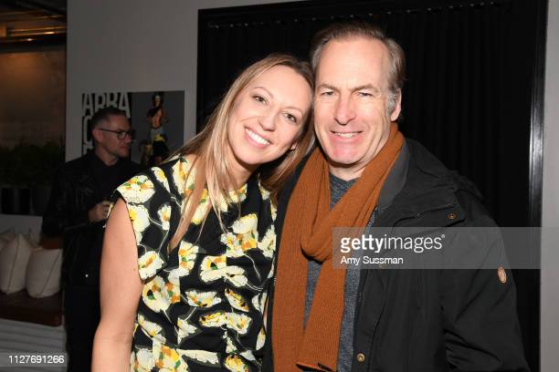 Anna Konkle and Bob Odenkirk attend the screening of Pen15 at NeueHouse Hollywood on February 05 2019 in Los Angeles California