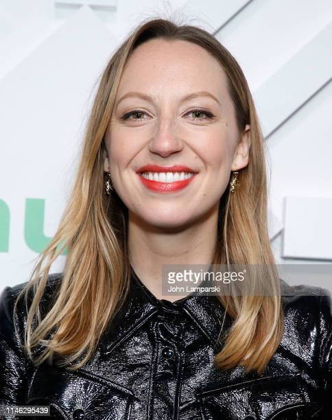 Anna Konkle attends 2019 Hulu Upfront at Scarpetta on May 01 2019 in New York City